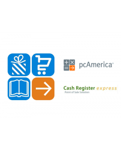 pcAmerica Cash Register Express Version 13 with Free Remote Install and Training